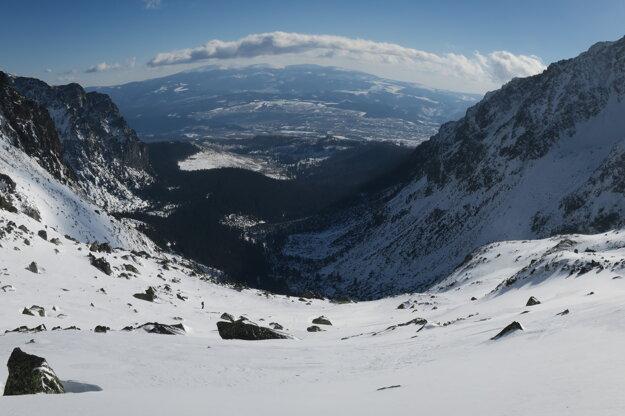 Pohľad do Mengusovskej doliny.