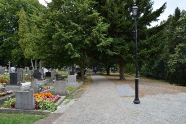 Aj s finančnou pomocou dotačného programu sa na Národnom cintoríne v minulých rokoch podarilo zrekonštruovať chodníky.
