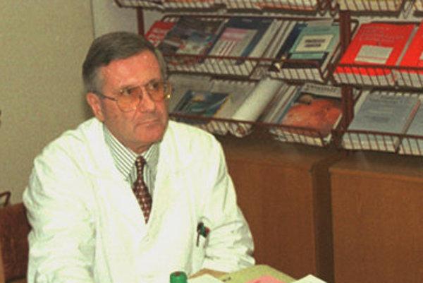 Richard Kvetňanský na archívnej fotografii z roku 1999.
