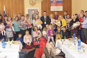 Jedna štvrtina novorodencov, ktorí pribudli minulý rok vOravskej Lesnej.