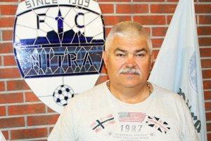 Predseda predstavenstva FC Nitra, a.s., Marián Valenta.
