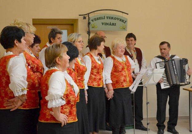Spevácka skupina Vinička.