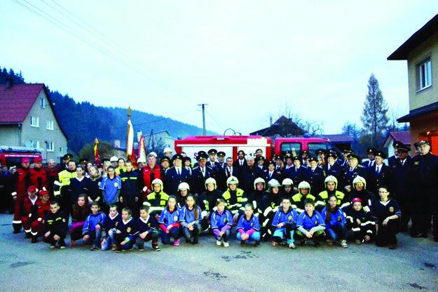 Súčasný hasičský zbor.