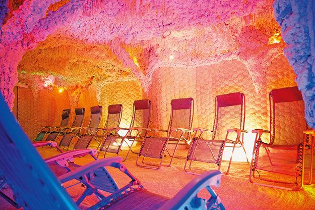 Soľná jaskyňa v Sliači