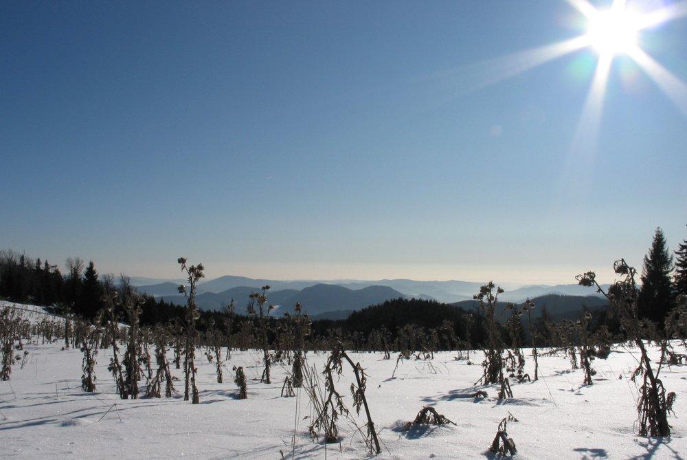 Zimná nádhera na Ondrejisku.