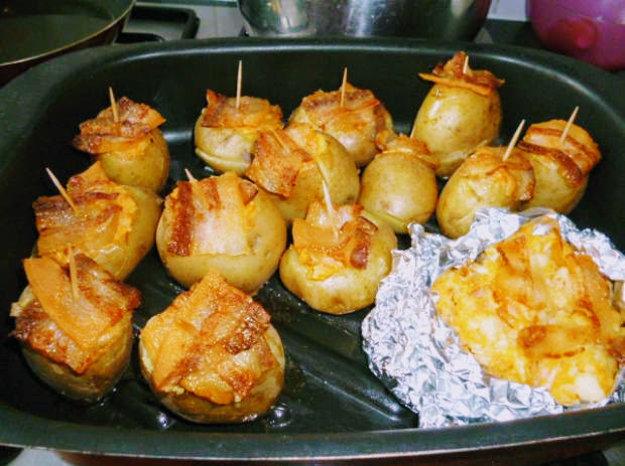 Úžasné plnené zemiaky