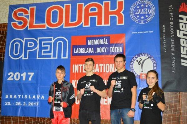 Michalovčania si na Slovak Open opäť počínali veľmi dobre.
