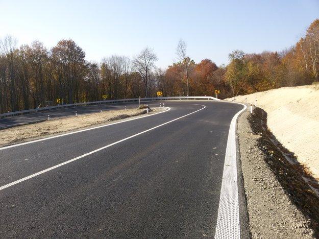 Cesta pri Šarišskom Štiavniku.