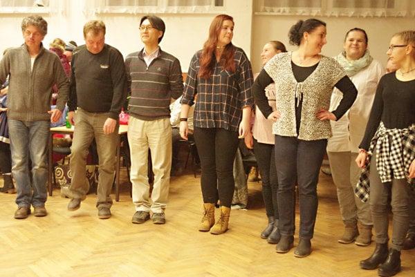 Na výučbu tanca prišiel žiak aj Z Kórey.