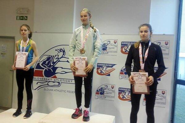 Medzi najlepšími. Radoslava Môcová obsadila skvelé druhé miesto.