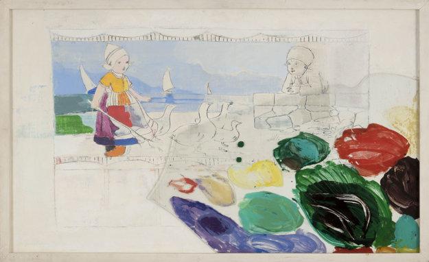 Klára Bočkayová: More chce byť ako nebo (1974).