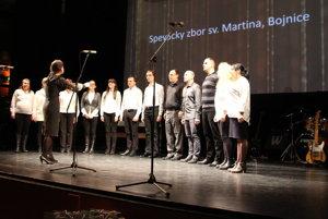 V programe vystúpil aj Zbor sv. Martina, ktorý bol tiež medzi ocenenými.