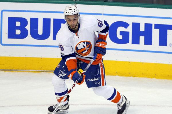 Kanadský hokejista Joshua Ho-Sang si vo svojom štvrtom zápase v NHL otvoril strelecký účet.