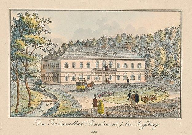Ferdinandove kúpele na Železnej studničke