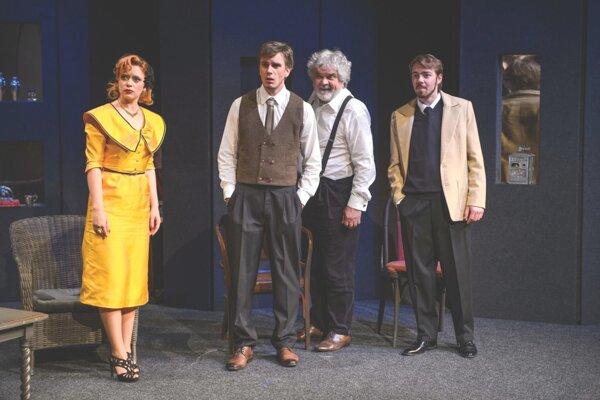 Komédia Mŕtvi to vidia inak sa už v martinskom divadle dohrala.