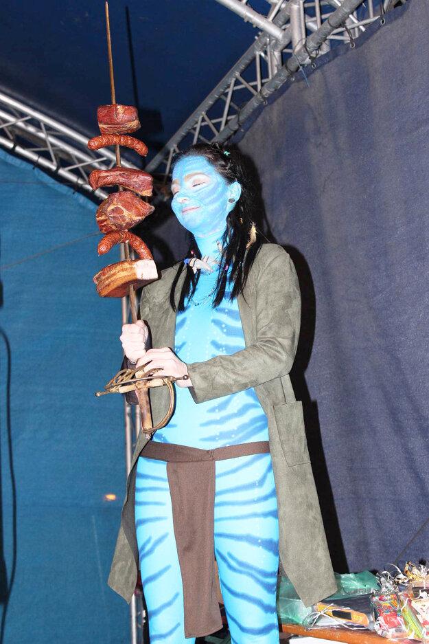 Víťazná Avatarka.