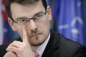Štátny tajomník Ministerstva obrany SR Róbert Ondrejcsák