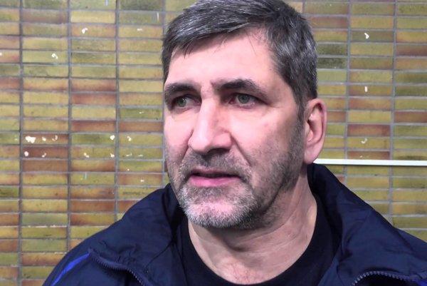 Tréner HC Nové Zámky Štefan Mikeš