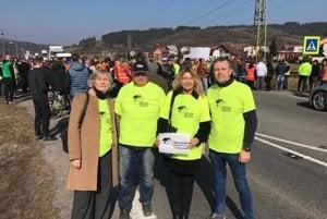 Členovia OZ Triblavina včera podporili Kysučanov, zajtra budú blokovať dopravu u nás.