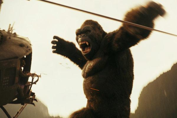 King Kong je v novom filme ešte väčší, než doteraz.