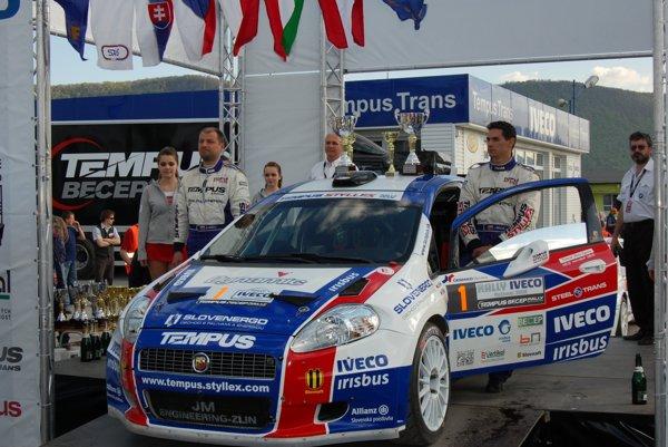 Víťazi Rally Rožňava z roku 2008.