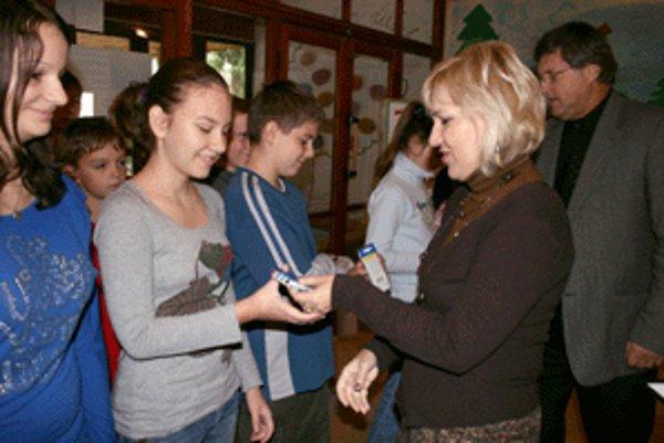 V Základnej škole na Malonecpalskej ulici v Prievidzi vyvrcholil projekt Nech je strava naším liekom.