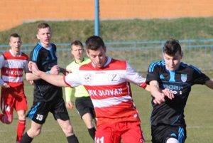 Bardejovská Nová Ves zdolala vsúboji tradičných rivalov Giraltovce tesne 1:0.