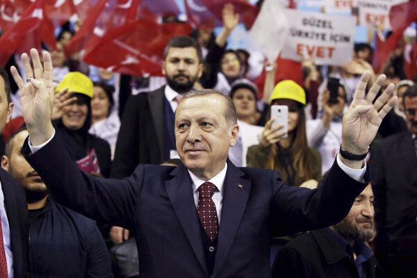 Turecký prezident Erdgoan.
