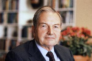 David Rockefeller, najstarší miliardár na svete, zomrel vo veku 101 rokov.
