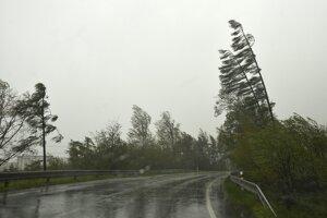 Meteorol�govia na nede�u varuj� pred v�chricou (predpove� po�asia)