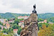 Jenelín skok v Karlovych Varoch
