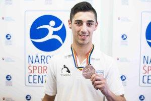 Bronzový medailista v boxe Viliam Tankó.