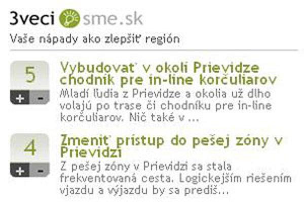 Novú službu nájdete priamo na stránke prievidza.sme.sk.