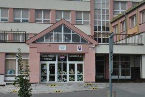 Základná škola na Sibírskej ulici.