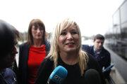 Líderka strany Sinn Féin Michelle O'Neill.