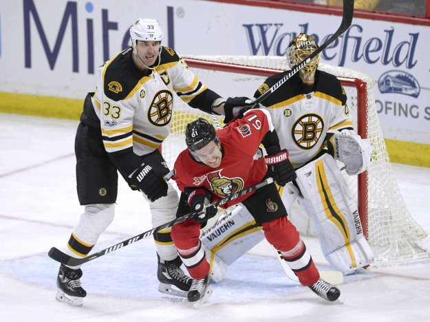Zdeno Chára (vľavo) je jasne najvyťaženejším hráčom Bostonu.