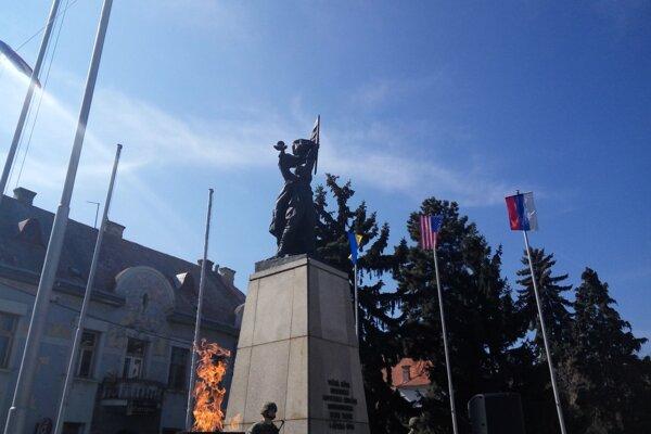 Pamätník  SNP v Trnave.