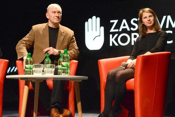 Róbert Bezák a Zuzana Hlávková.