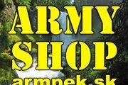 Predaj – military – security – airsoft – outdoor – camping – survival. Celoročná ponuka pyrotechniky. Army shop ARMPEK.SK nájdete vPoprade na Námestí sv. Egídia 44. E -shop funguje na stránke www.armpek.sk. Mobilný kontakt: 0915 70 61 61