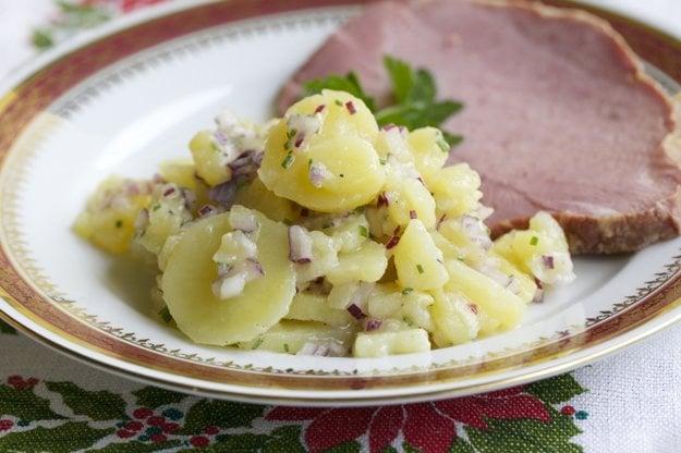 Viedenský zemiakový šalát