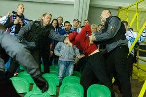 Sobotňajší zápas v Žiline vyvolal vášne.