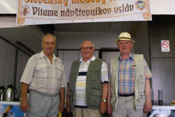 Viliam Králik, Jozef Kotian a František Mjartan si priniesli z festivalu množstvo ocenení.