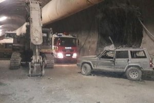 Po tragickej nehode v tuneli Višňové.