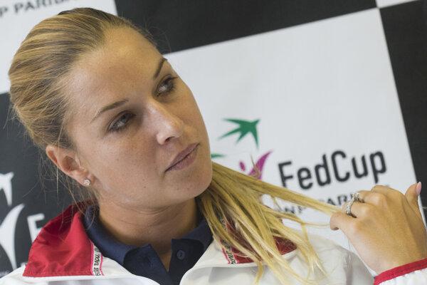 Dominika Cibulková oznámila svoj návrat do fedcupovej reprezentácie.