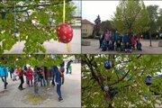 Novozámčania majú svoj kraslicový strom