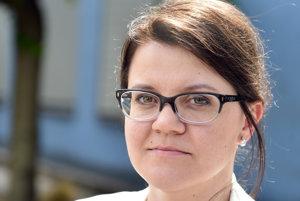Jana Ježíková, šéfka odboru zdravotníctva bratislavskej župy.