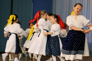 Malá Sielnica. Deti z Lazian sa predstavili tancom aj spevom.