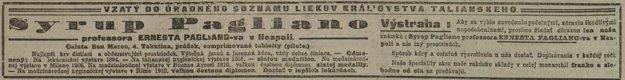 Slovenské noviny z 12. 3. 1914