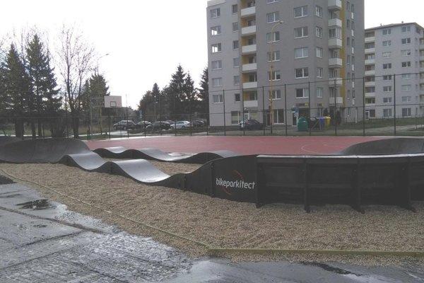 Bikepark vPriekope otvorili na začiatku apríla.