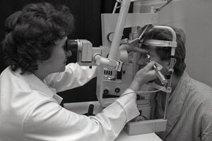 Zlepšovací návrh primárky očného oddelenia OÚNZ vTopoľčanoch Kamily Lepeyovej – očná vŕtačka.